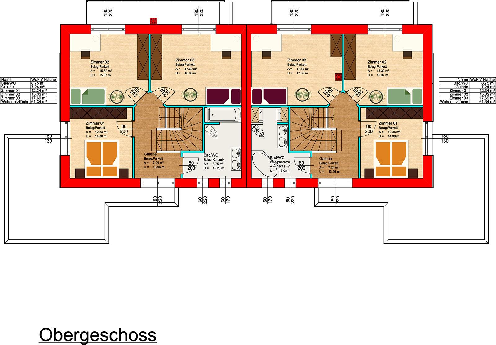 Gresten-Obergeschoss